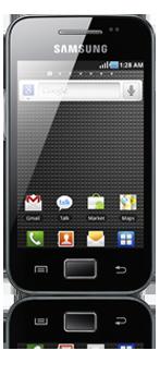 Hi, 12 maanden 50% korting, abonnement Samsung Galaxy Ace, lease je ...
